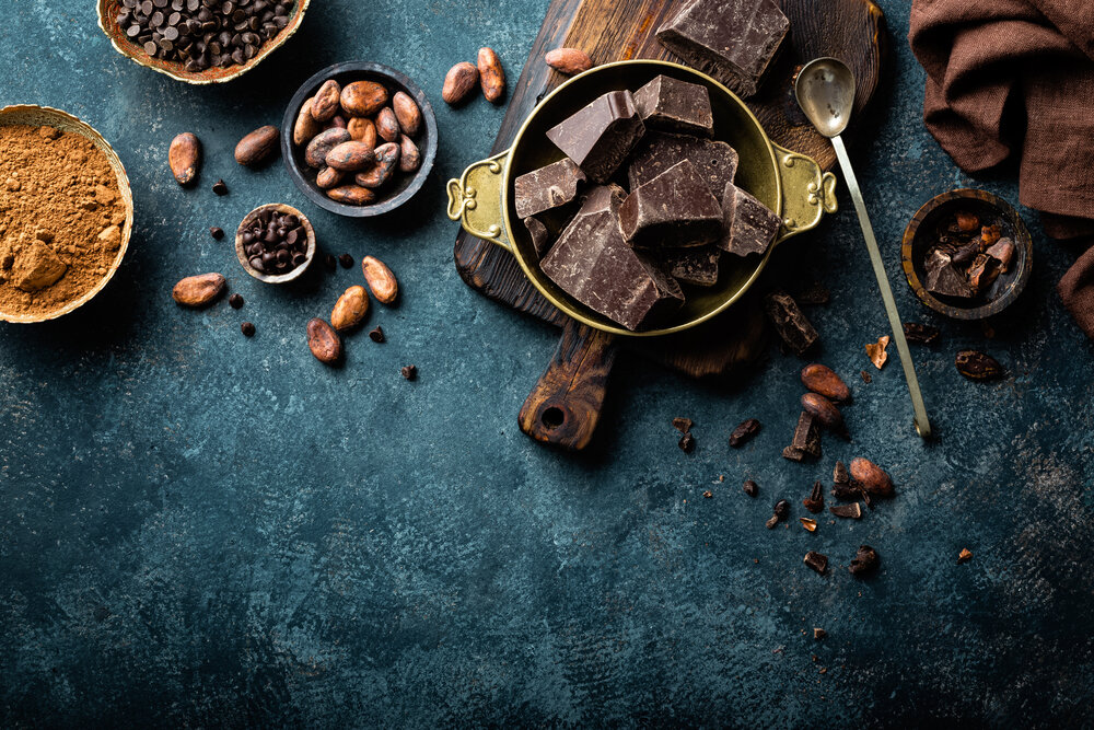 Bitter çikolata antioksidan etkisine sahiptir.
