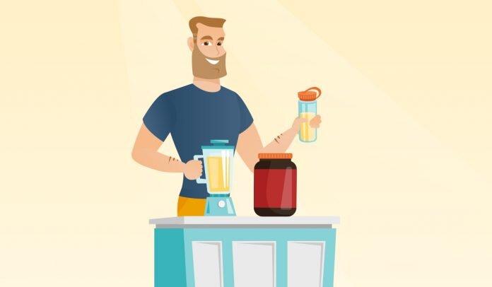 protein-shake-yapimi