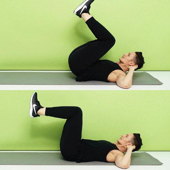 Reverse crunch hareketi nasıl yapılır?