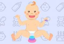 12 aylık bebek gelişimi.