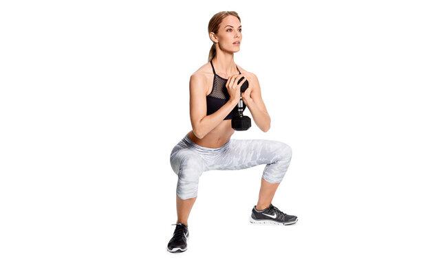 Goblet plié squat hareketi nasıl yapılır?