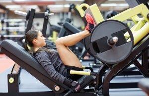 ağırlık kaldırarak bacak egzersizi
