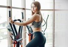 eliptik bisiklet ile evde spor